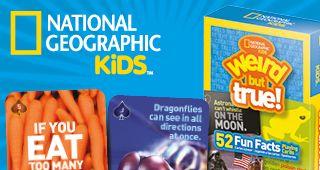 Карти за игра National geographic - забавни факти