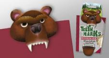 Разделител за книга със зъби