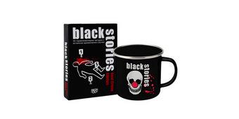 Промо пакет: Black Stories Real Crime + метално канче
