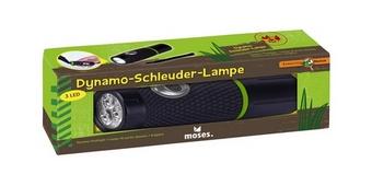 Фенерче с динамо, зареждащо с въртене