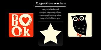 Магнитни квадратни книгоразделители