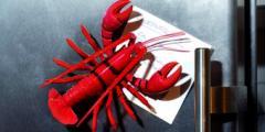 Кухненски магнит - омар