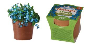 Отгледай вкъщи - подаръчен комплект - цветя