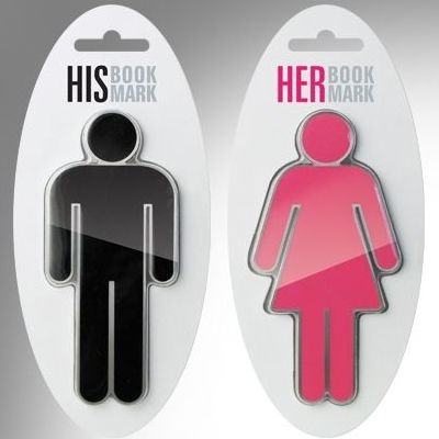 His and Her bookmarks1