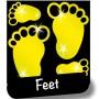 stiker-feet