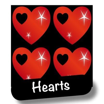 stiker-hearts