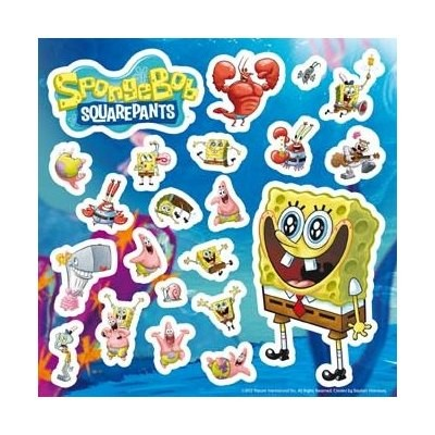 stiker-spongebob-happy